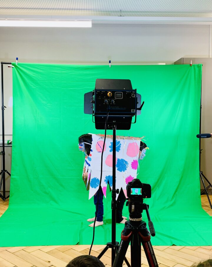 Green Screen Studio. Jeremy Rossier