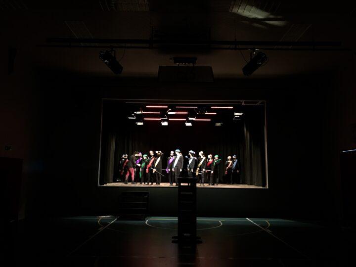 Danse sur scène. Jessica Maire