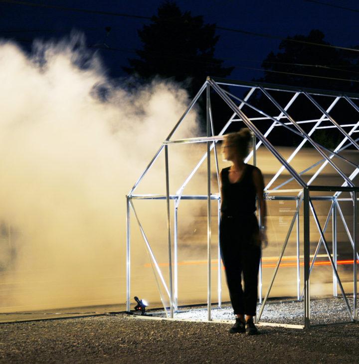 Image001. Installation «17.2m³ Bümpliz» (2016) mit Lea-Nina Fischer, Sebastian Schafer