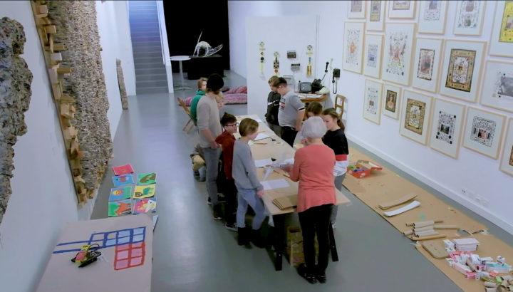 Filmstill Kopie. Schule im Museum, Musée Visionnaire