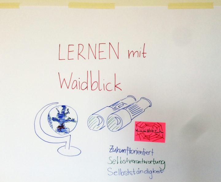 Lernen-mit-waidblick. «Waidblick», Vision-Workshop Schule Waidhalde