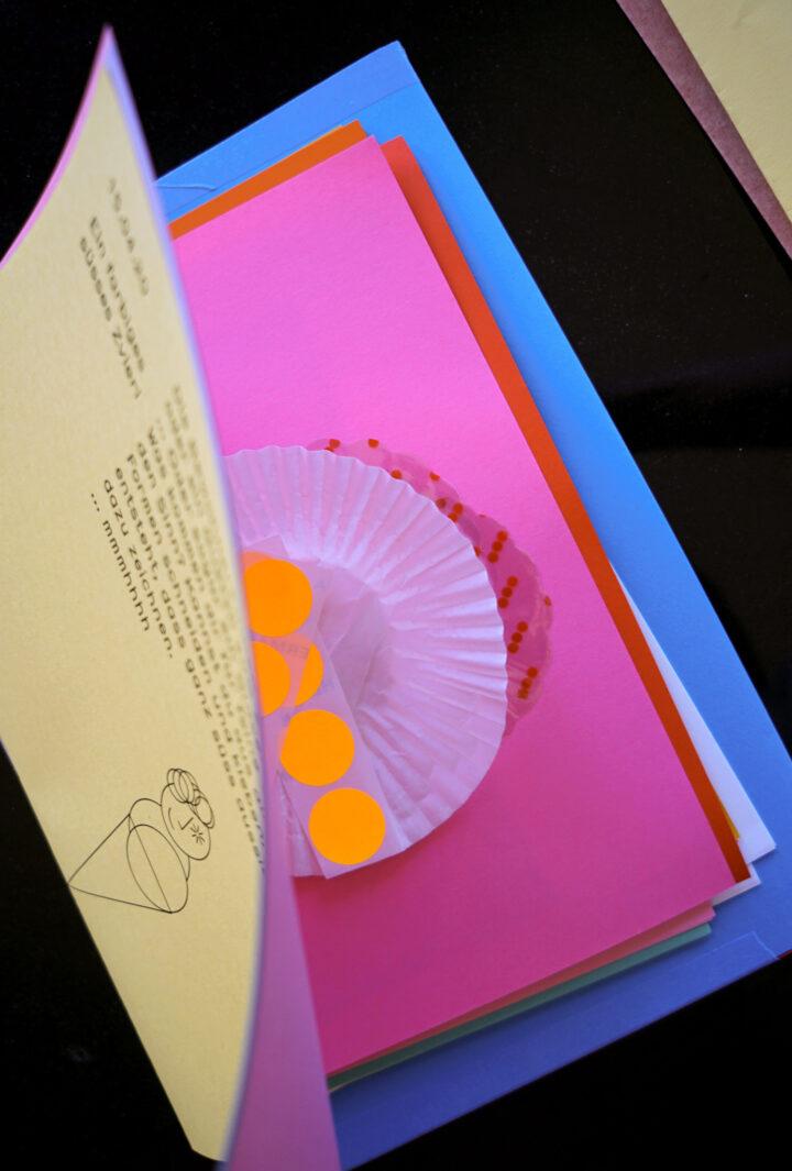 C Marie Cuennet Altersheim postkarten dessert 3. Überraschungspost
